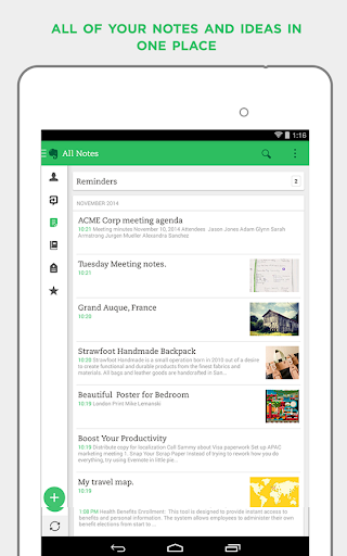Evernote for Android - Version 7 0 2 | Free Download Apps & Games