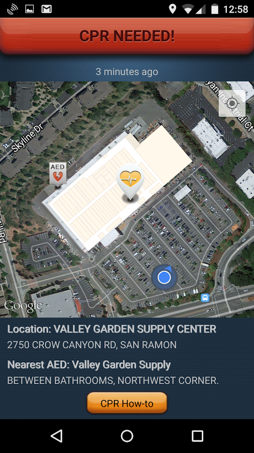 PulsePoint Respond - screenshot