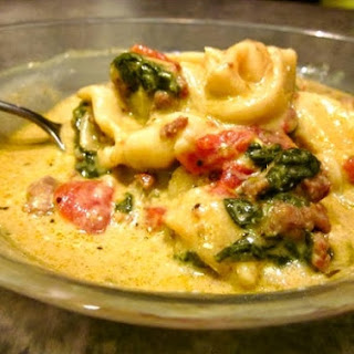 Crockpot Cheese Tortellini