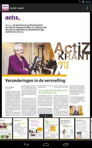 ActiZ-krant 2012-13