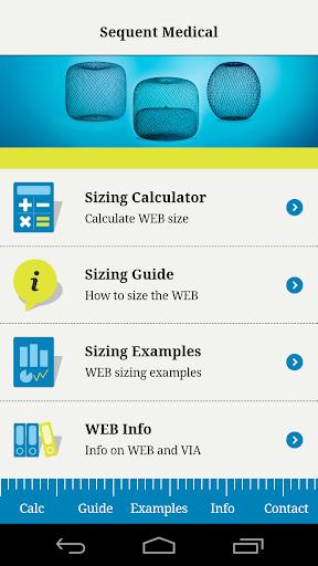 WEB Sizing Guide