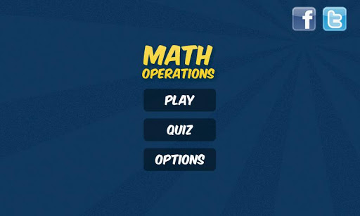 Math Operations 4 Kids - FREE