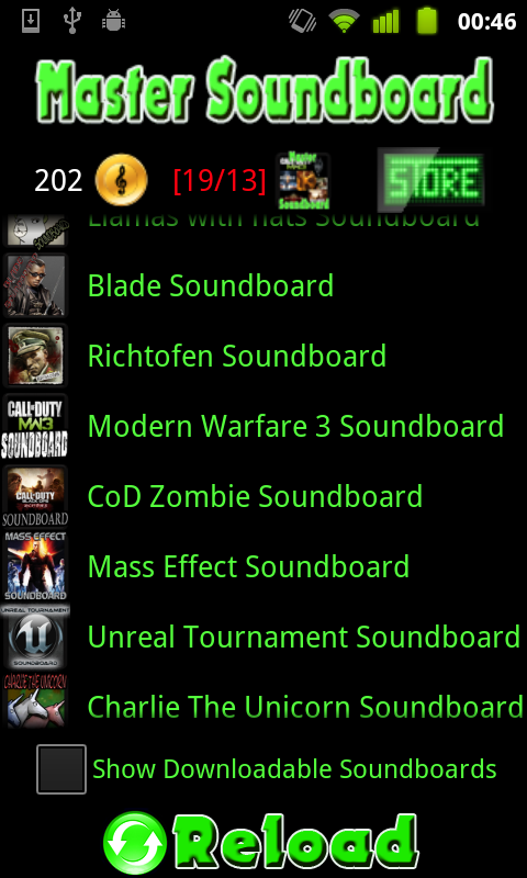 Supernatural Soundboard - screenshot