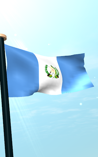 危地马拉旗3D动态壁纸|玩個人化App免費|玩APPs