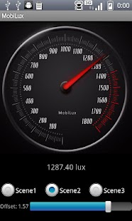 MobiLux : Light Meter- screenshot thumbnail