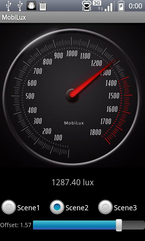 MobiLux : Light Meter - screenshot