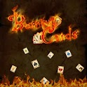 Burning Cards logo