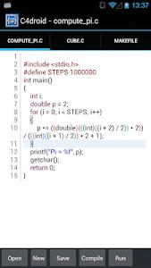 C4droid - C/C++ compiler & IDE v5.00