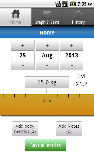 i Record Weight