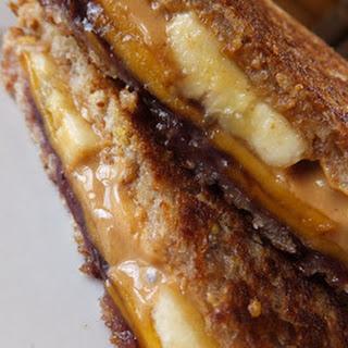 PBJ Banana Grilled Cheese Sandwich