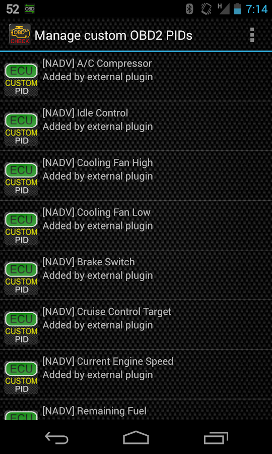 Advanced EX for NISSAN - screenshot