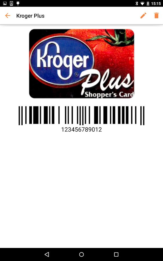 mobile-pocket loyalty cards- screenshot