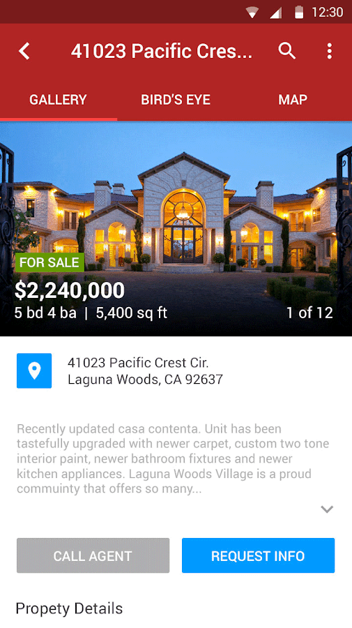 Real Estate & Foreclosures- screenshot