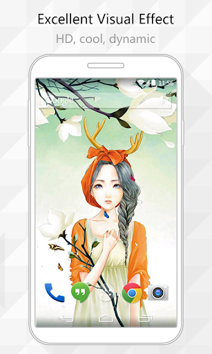Worry Flower Live Wallpaper