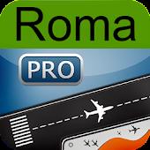 Rome Airport + flight tracker