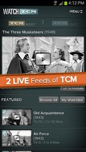 WATCH TCM - screenshot thumbnail