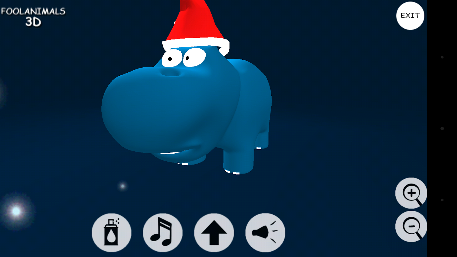 Fool Animals 3d - XmasHippo - screenshot