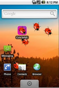Cute Ladybugs Live Wallpaper- screenshot thumbnail