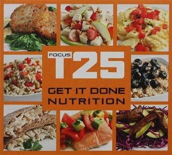 Focus T25 Nutrition