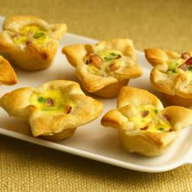 Pillsbury Crescent Bacon-Cheese Tartlets Recipe