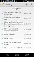 Screenshot of Cleaning Organizer