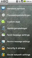 Screenshot of Handcent Dutch Language Pack