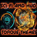 科幻與HUD的扭矩OBD2 icon