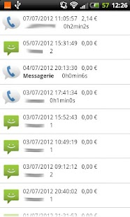 FreeMobile Suivi Conso- screenshot thumbnail