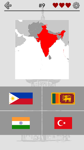 Asian Countries Middle East