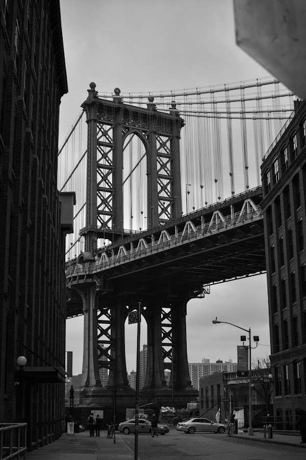 Downtown Brooklyn by Jojo Garcia - Buildings & Architecture Bridges & Suspended Structures