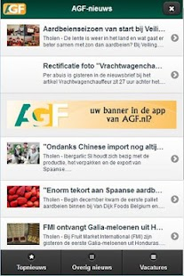 AGF.nl- screenshot thumbnail
