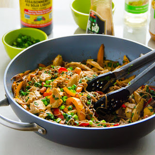 Quick and Healthy Peanut Chicken Soba Noodles