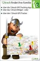 Screenshot of 12track GPS Tracking Widget