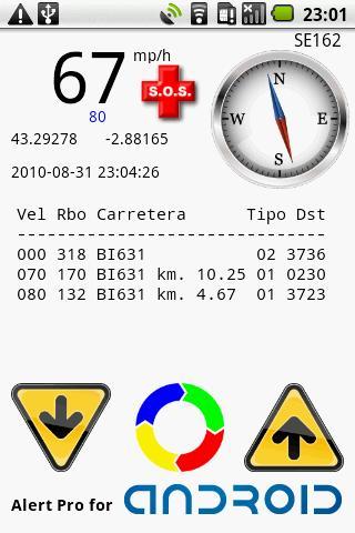 Alert Pro BT Control Center- screenshot