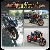 Aneka Motor Vixion Modifikasi