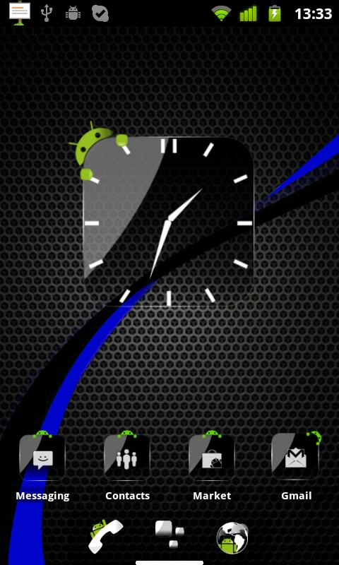 Theme Crystal Black HD Pack - screenshot