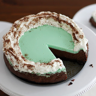 Double Chocolate Mint Cheesecake