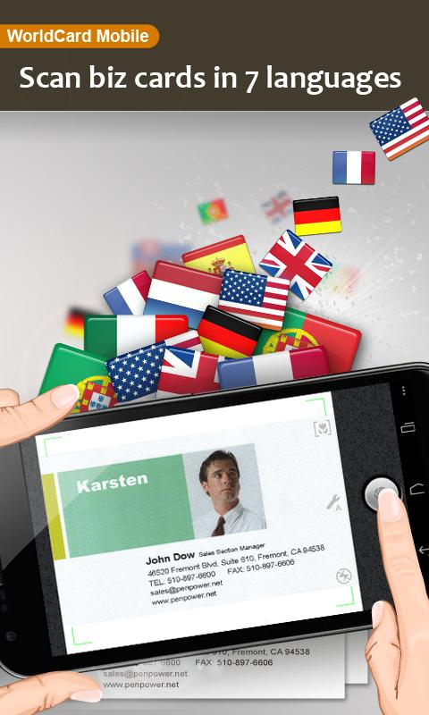 WorldCard Mobile Lite - screenshot