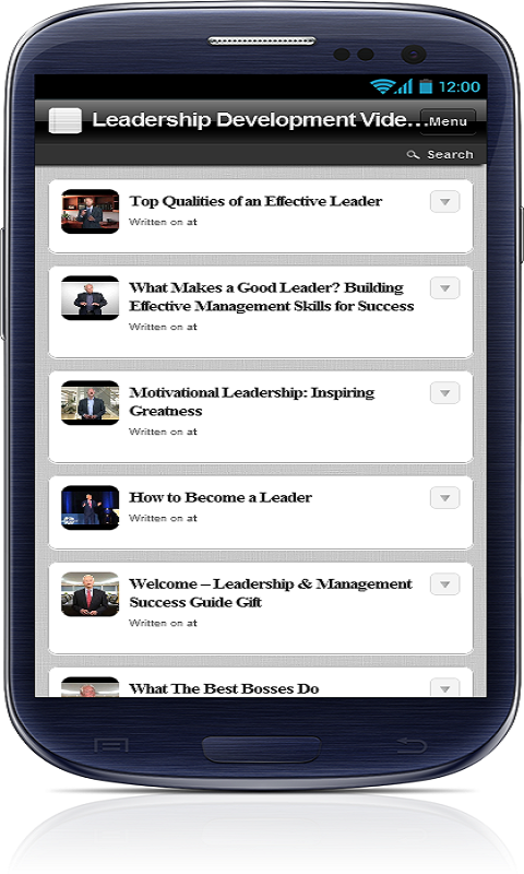 Leadership Development Videos - screenshot