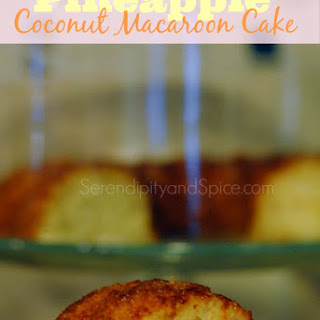 Pineapple Coconut Macaroon Cake