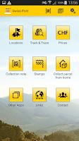 Screenshot of Swiss Post App