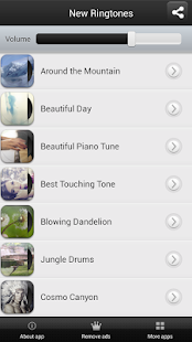 New Ringtones - screenshot thumbnail
