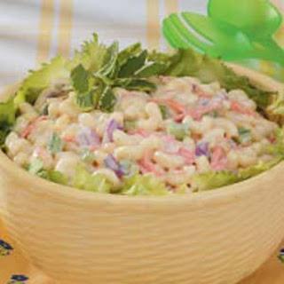 Sweet Macaroni Salad.