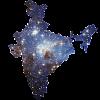 Indian Sky Map