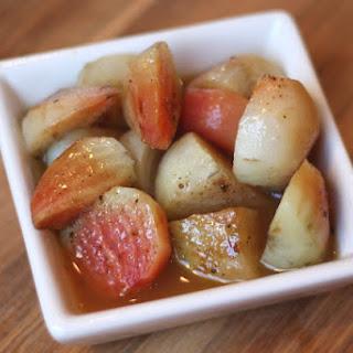 Roasted Chiogga Beets with Sweet Orange Glaze