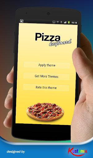 I Love Pizza Keyboard