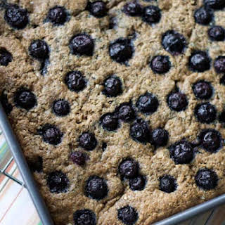 Quinoa Breakfast Bars with Blueberries.