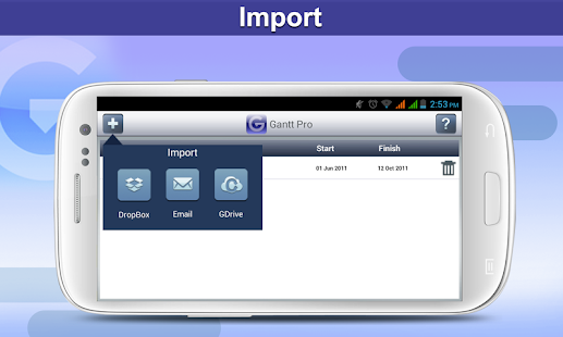 Gantt Pro -Project Plan Reader - screenshot thumbnail