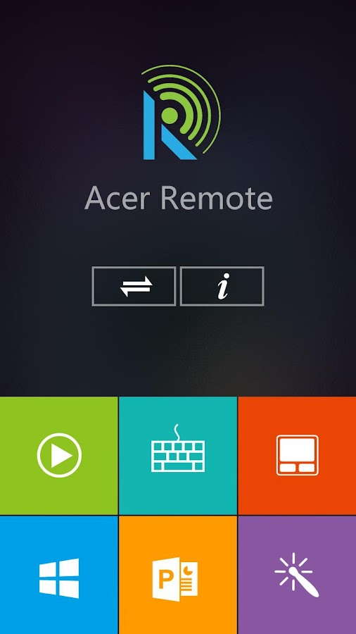 Acer Remote - screenshot
