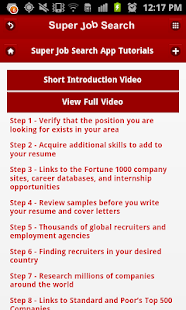 Super Job Search- screenshot thumbnail
